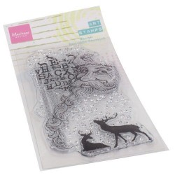 MARIANNE DESIGN CLEAR STAMPS ART SANTA