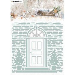 Studio Light Embossing Folder With Die Cut, Winter Charm nr. 07