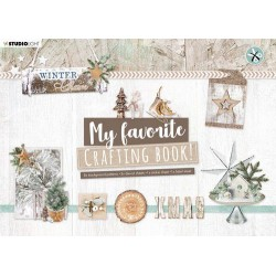 Studio Light Crafting Book MF Winter Charm Elements nr.97 210x297mm