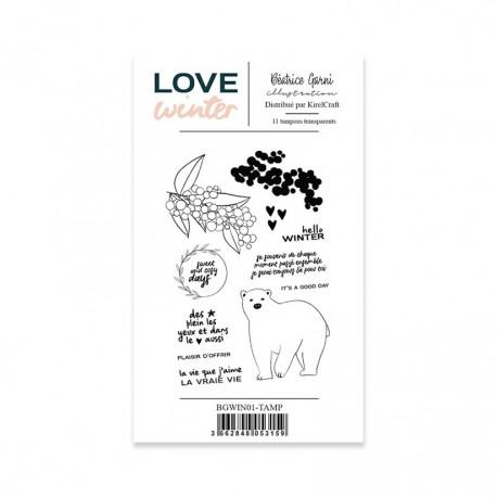 BEATRICE GARNI - LOVE WINTER - TAMPON 1