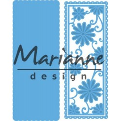 MARIANNE DESIGN CREATABLES ANJAS FLOWER RECTANGLE