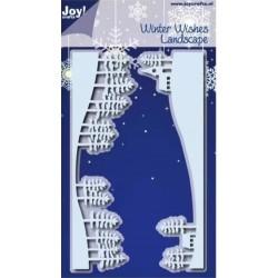JoyCrafts • Matrice de découpe Winter wishes landscape