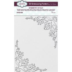 Creative Expressions • Embossing folder 3D SYMMETRY IN PLAY