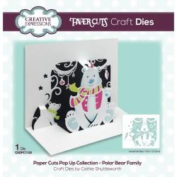 Paper Cuts • Polar Bear Family Craft Die
