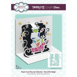 CREATIVE EXPRESSIONS Paper Cuts • Bountiful Sleigh Craft Die
