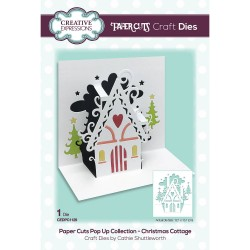 CREATIVE EXPRESSIONS Paper Cuts • Christmas Cottage Craft Die