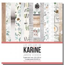 LES ATELIERS DE KARINE JARDIN D'HIVER COLLECTION PACK