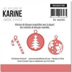 LES ATELIERS DE KARINE JARDIN D'HIVER DIES LES BRELOQUES