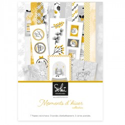 SOKAI MOMENTS D'HIVER COLL. KIT A4