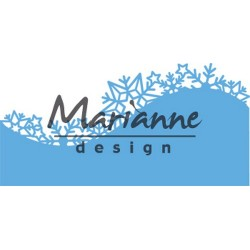 MARIANNE DESIGN CREATABLES BORDER ICE CRYSTALS