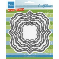MARIANNE DESIGN CRAFTABLES BASICS CLASSIC SQUARE