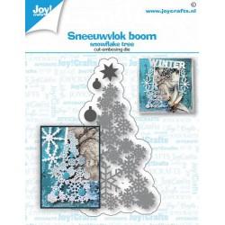 JoyCrafts • Matrice de découpe SNOWFLAKE TREE
