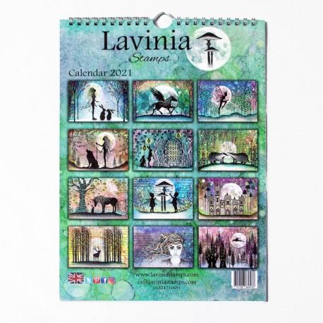 Lavinia Stamps CALENDAR 2021