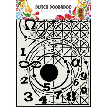 Dutch Doobadoo Dutch Mask Art GEOMETRY A4 Grand Format