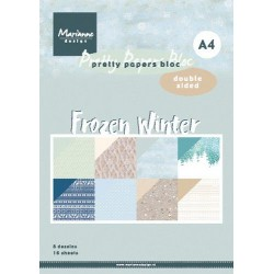 MARIANNE D PAPERS BLOC FROZEN WINTER A4