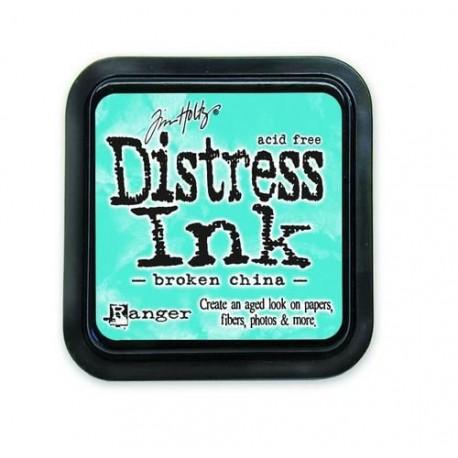 DISTRESS INK BROKEN CHINA