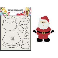 Dutch Doobadoo Card Art Built up SANTA A5