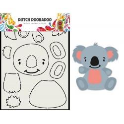 Dutch Doobadoo Card Art Built up KOALA A5