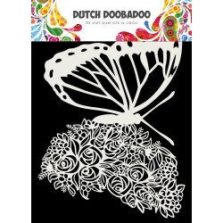Dutch Doobadoo Mask Art A5 Butterfly