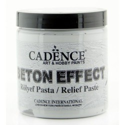 CADENCE BETON EFFECT RELIEF PASTE GRAY, 250 ML