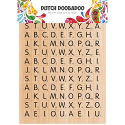 Dutch Doobadoo STICKER ART A5 SCRABBLE