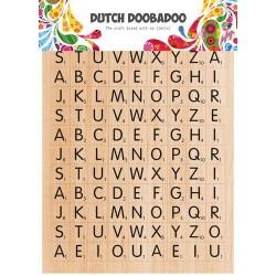 Dutch Doobadoo STICKER ART A5 SCRABBLE