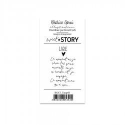 BEATRICE GARNI - CLEAR STAMPS SWEET STORY 3