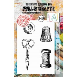 AALL AND CREATE STAMP CLEAR -439 SEWING KIT