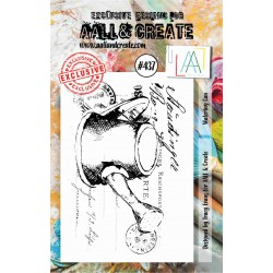 AALL AND CREATE STAMP CLEAR -437