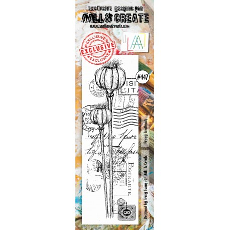 AALL AND CREATE STAMP CLEAR -447