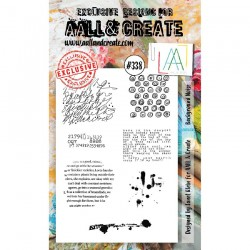 AALL AND CREATE STAMP CLEAR -338