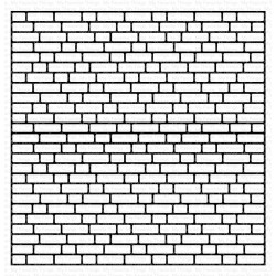 MFT ENGLISH BRICK WALL BACKGROUND CLING STAMP