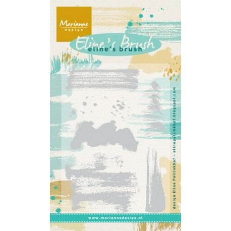 MARIANNE DESIGN CLEAR STAMPS ELINES BRUSH