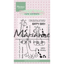 MARIANNE DESIGN CLEAR STAMPS ELINES ANIMALS GIRAFFE