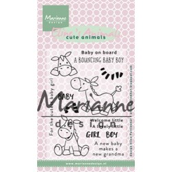 MARIANNE DESIGN CLEAR STAMPS ELINES ANIMALS ZEBRA