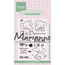 MARIANNE DESIGN CLEAR STAMPS ELINES ANIMALS ELEPHANT