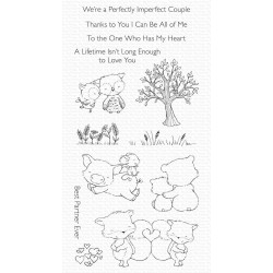 MFT PERFECT COUPLE CLEAR STAMPS