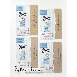 MARIANNE DESIGN CLEAR STAMPS CRAFT DATES
