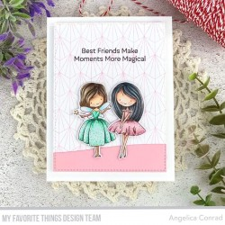 MFT PRETTY PRINCESS CLEAR STAMPS