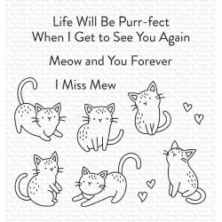 MFT MINI MEOWS CLEAR STAMPS