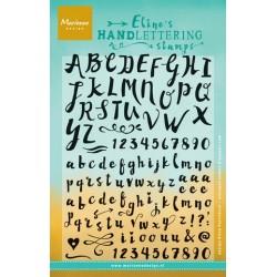 MARIANNE DESIGN CLEAR STAMPS ELINES handlettering - Script