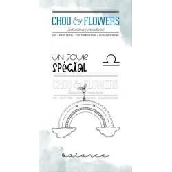 CHOU & FLOWERS TAMPONS CLEAR DOUDOU BALANCE DANS LA LUNE