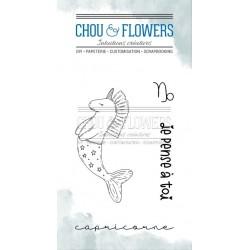 CHOU & FLOWERS TAMPONS CLEAR DOUDOU CAPRICORNE DANS LA LUNE