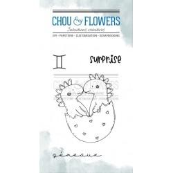 CHOU & FLOWERS TAMPONS CLEAR DOUDOU GEMEAUX DANS LA LUNE