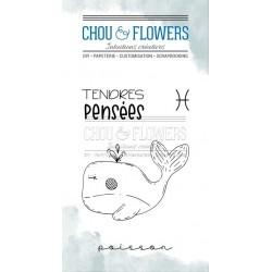 CHOU & FLOWERS TAMPONS CLEAR DOUDOU POISSON DANS LA LUNE