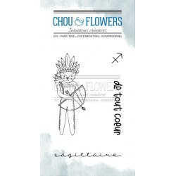 CHOU & FLOWERS TAMPONS CLEAR DOUDOU SAGITTAIRE DANS LA LUNE