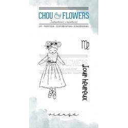 CHOU & FLOWERS TAMPONS CLEAR DOUDOU VIERGE DANS LA LUNE