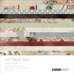 KAISERCRAFT CHERRY TREELANE PAPER PAD 15X15CM