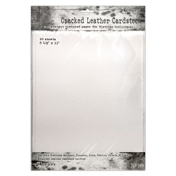 TIM HOLTZ RANGER - DISTRESS CRACKED LEATHER PAPER
