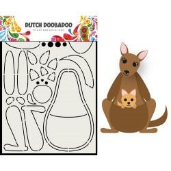 Dutch Doobadoo Card Art Built up KANGAROO A5